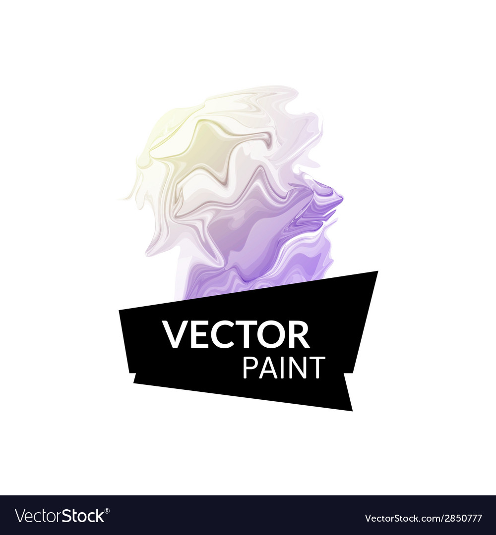 Abstract digital watercolor ink virtual technology vector | Price: 1 Credit (USD $1)