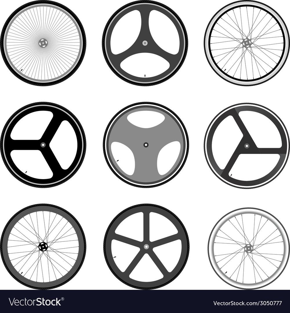 Bicycle wheel vector | Price: 1 Credit (USD $1)