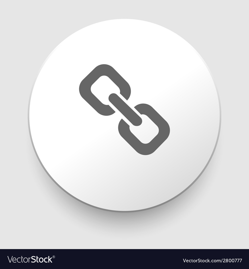 Chain or link icon vector | Price: 1 Credit (USD $1)