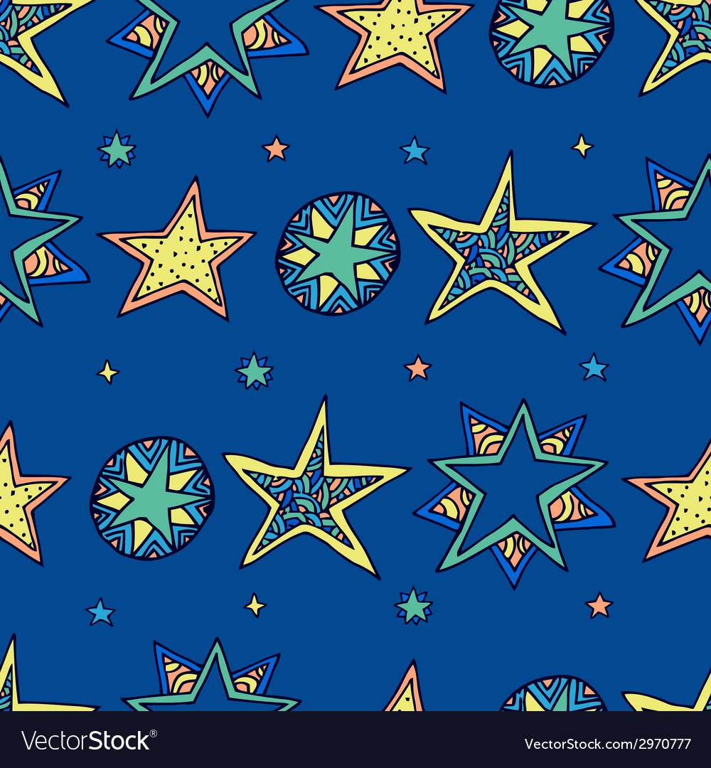 Fantasy starry sky vector | Price: 1 Credit (USD $1)