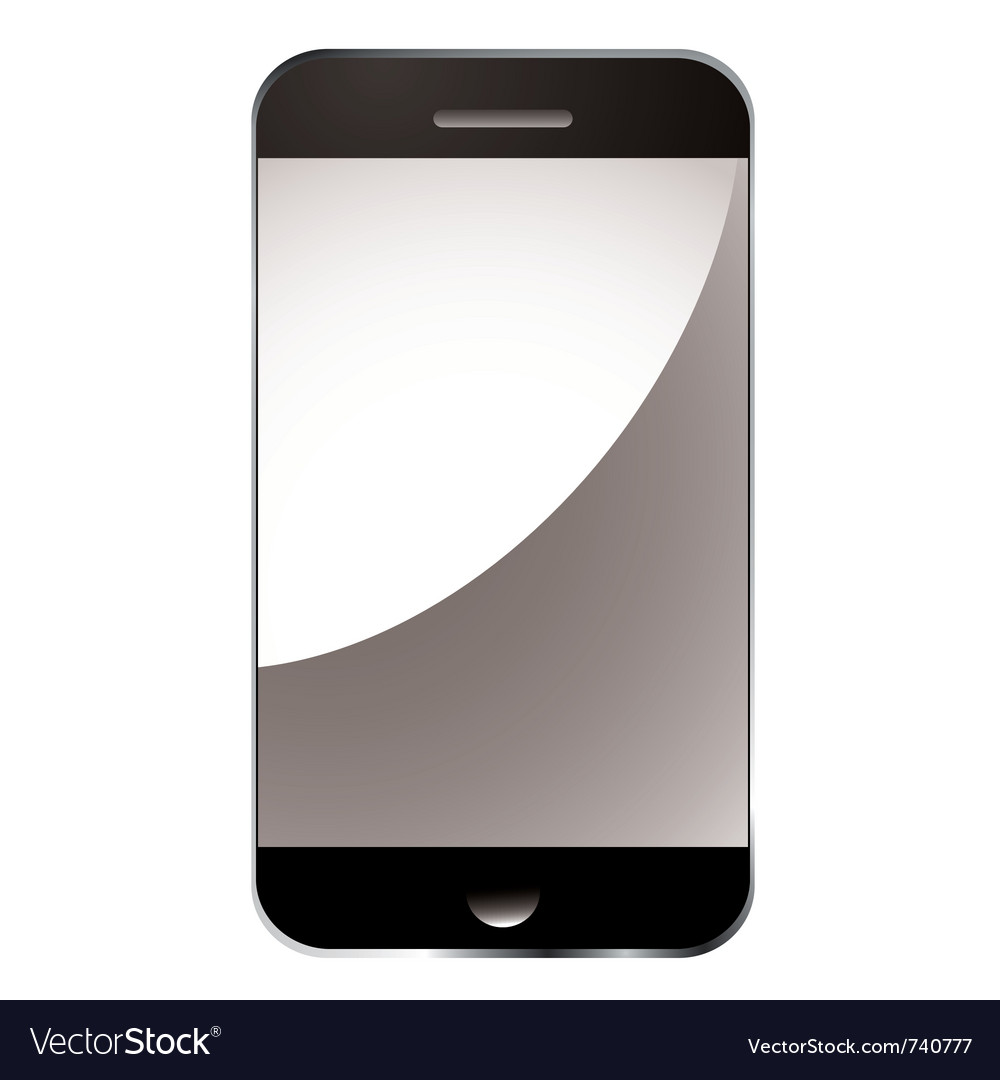 Modern smart phone vector | Price: 1 Credit (USD $1)