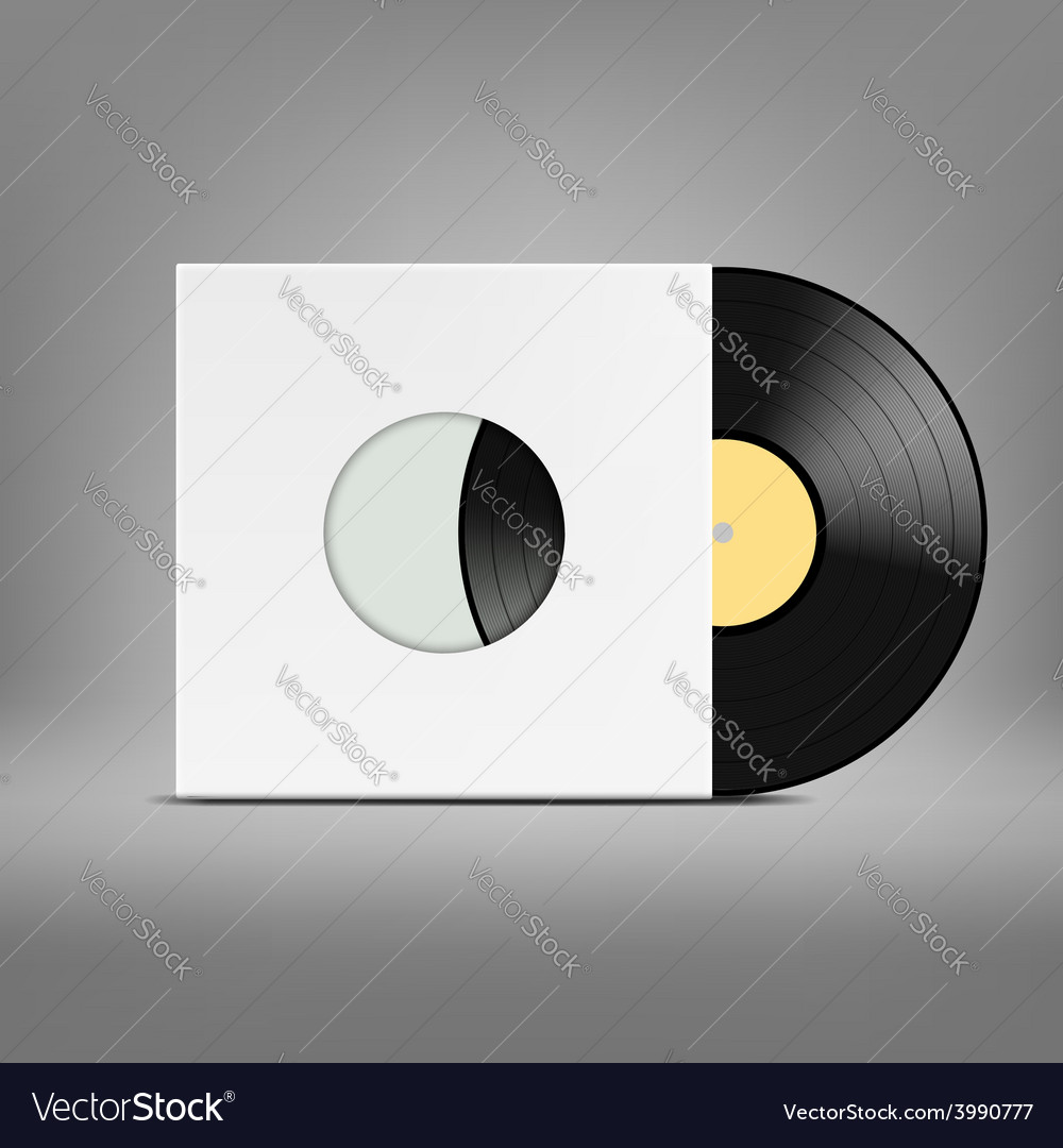 Old vinyl record vector | Price: 1 Credit (USD $1)
