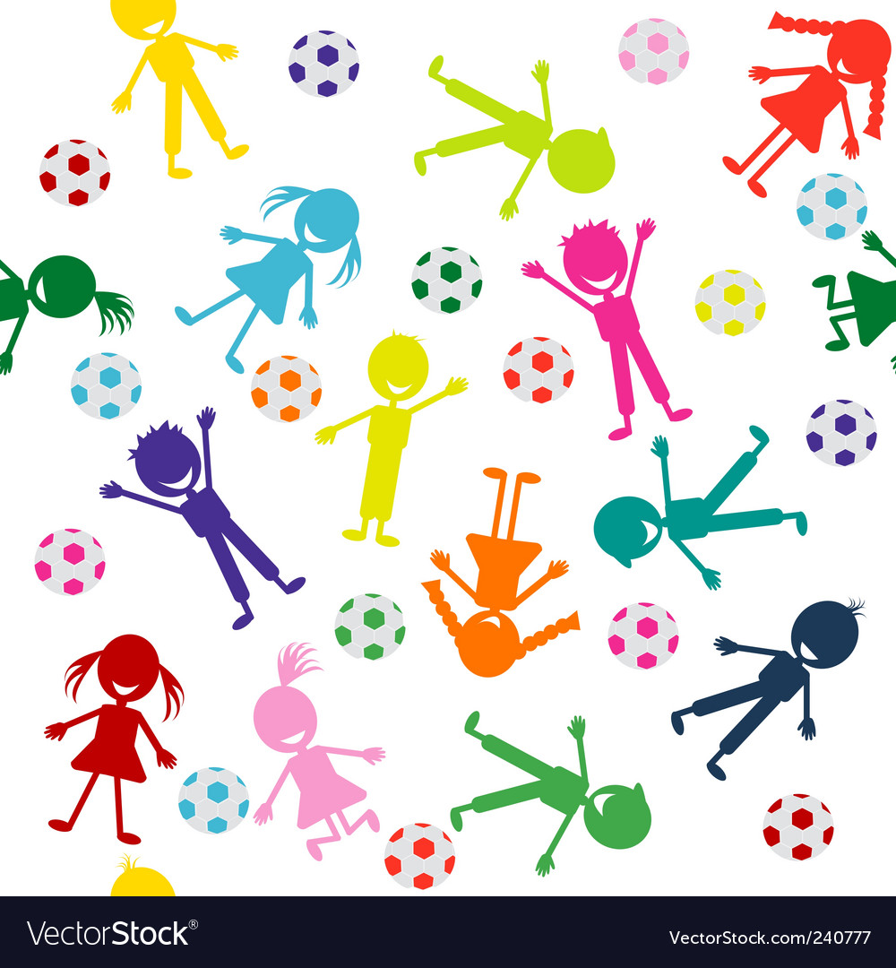 Sports kids vector | Price: 1 Credit (USD $1)