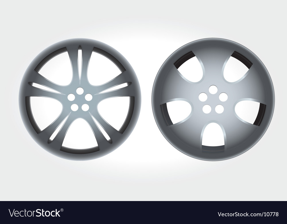 Alloy rims vector | Price: 1 Credit (USD $1)