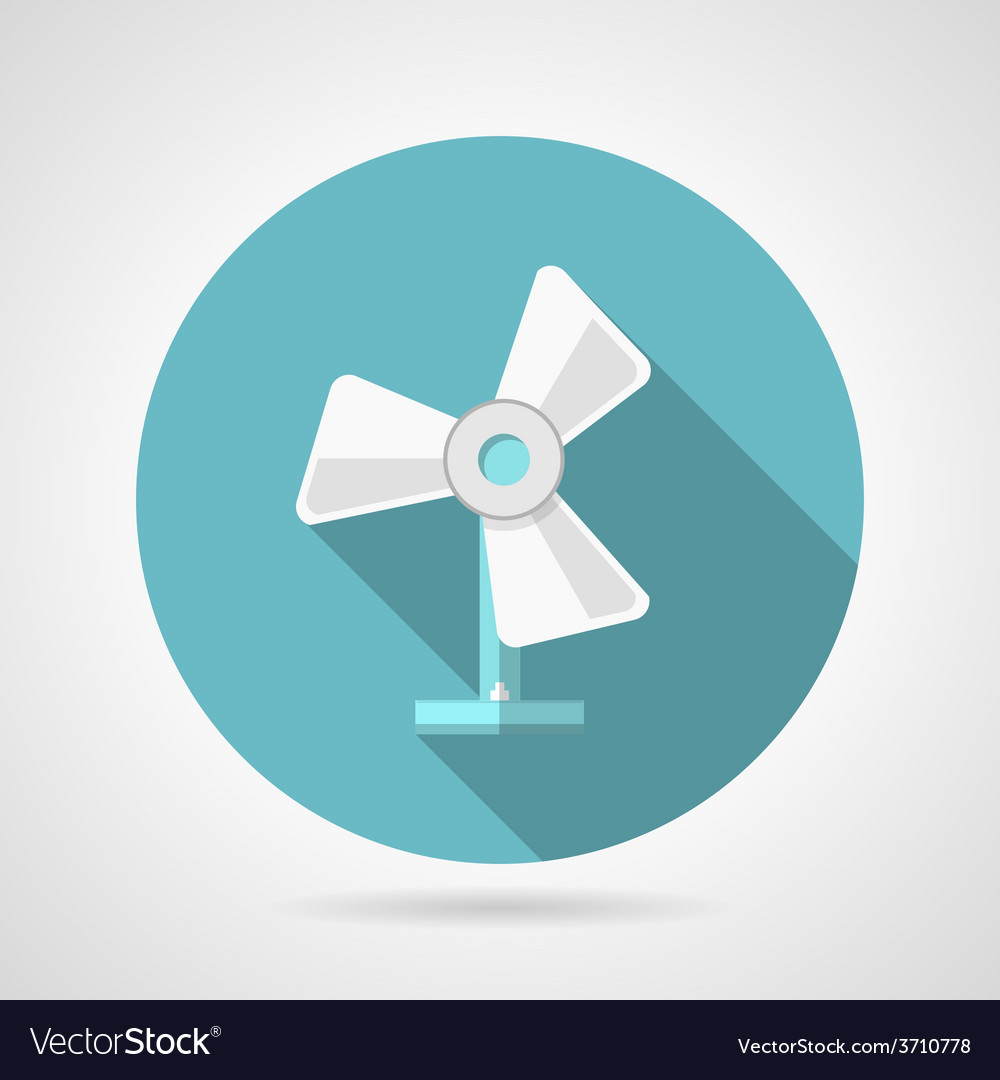 Flat icon for fan vector | Price: 1 Credit (USD $1)