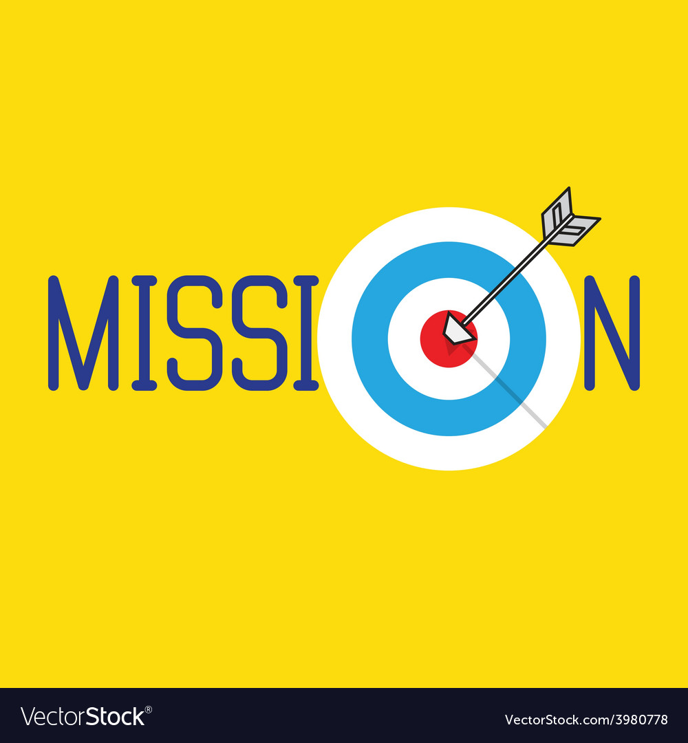 Mission concept vector | Price: 1 Credit (USD $1)