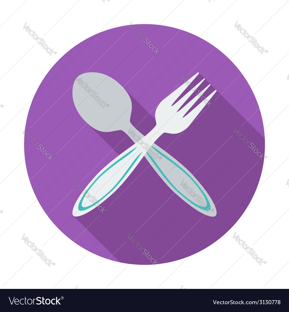 Spoon fork vector | Price: 1 Credit (USD $1)