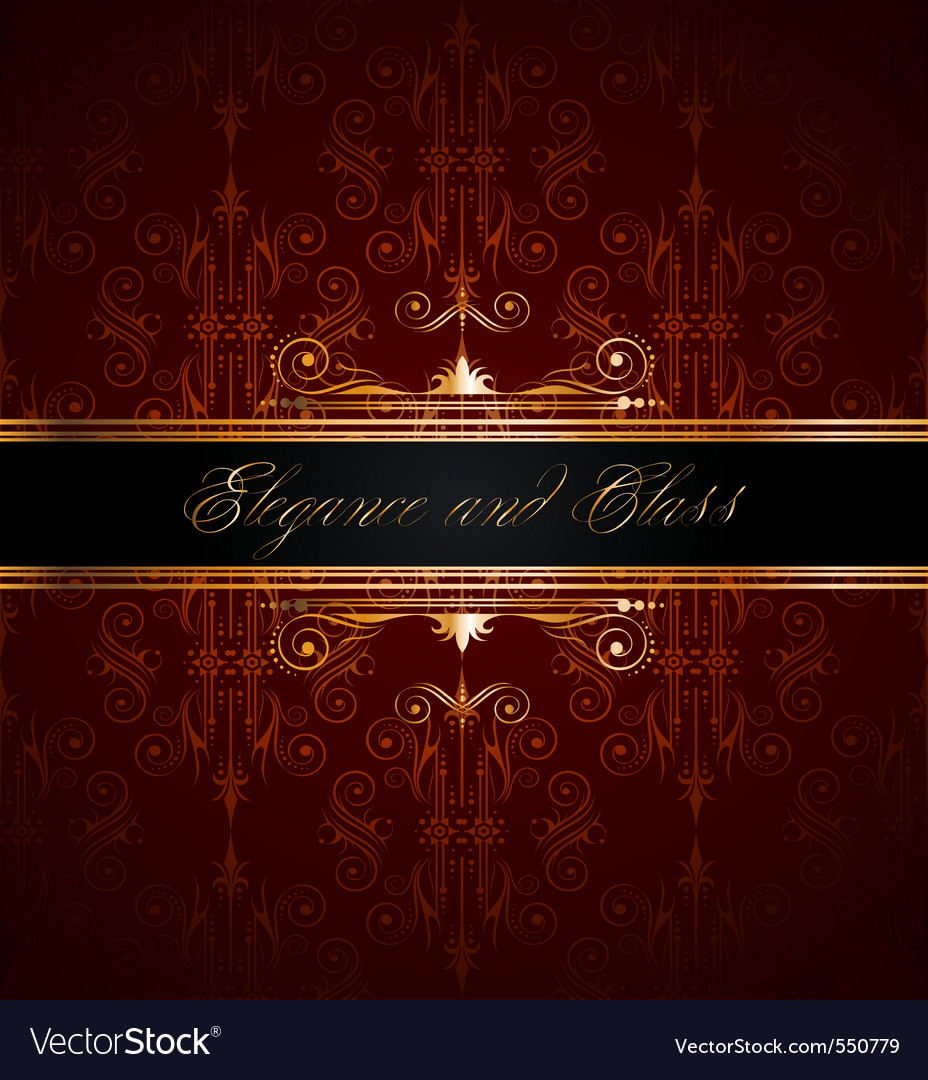 Elegant wallpaper vector | Price: 1 Credit (USD $1)