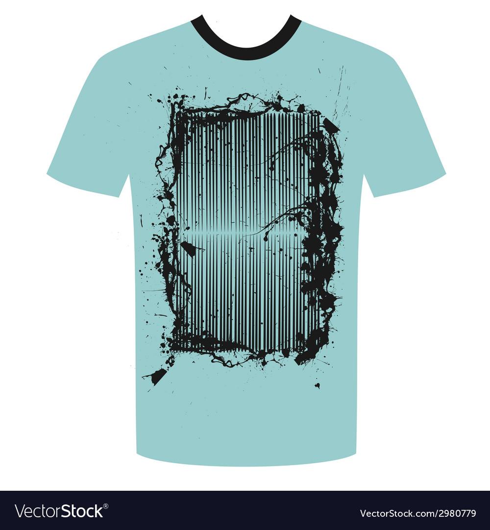 Tshirt grunge design vector | Price: 1 Credit (USD $1)