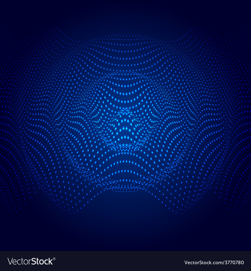Abstract of sound wave vector | Price: 1 Credit (USD $1)