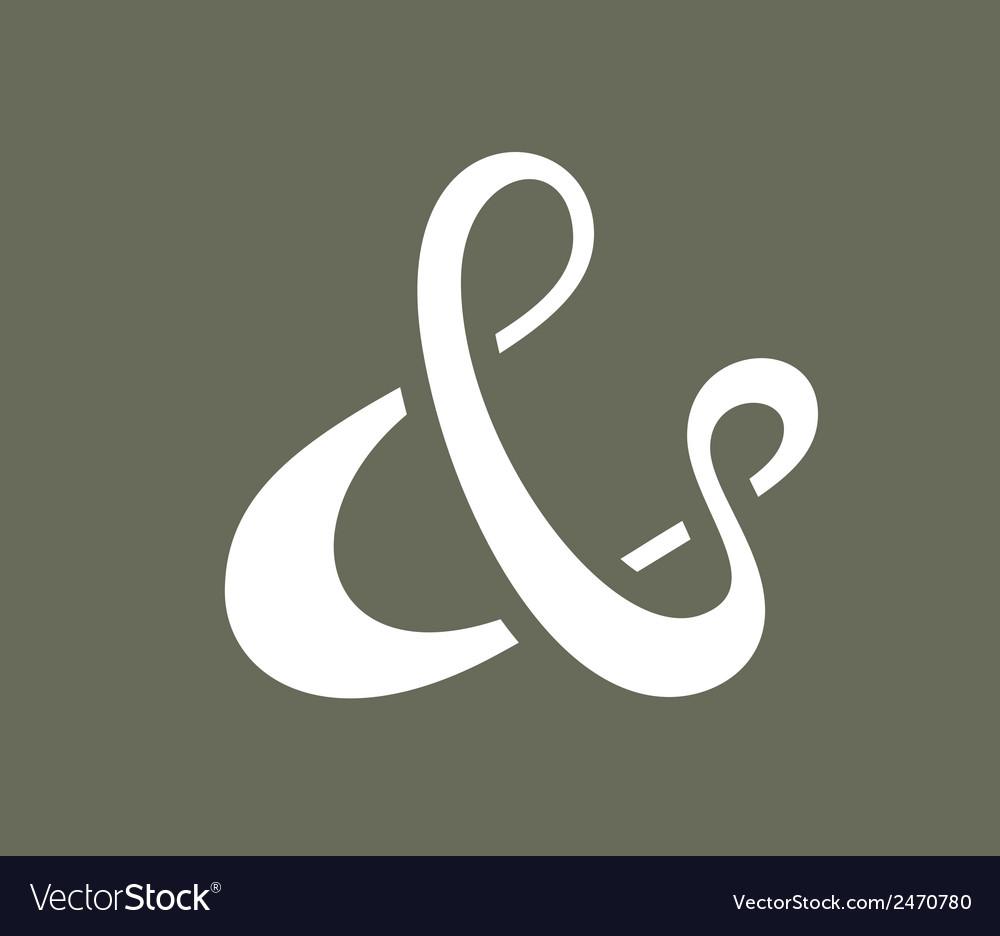 Ampersand vector   Price: 1 Credit (USD $1)