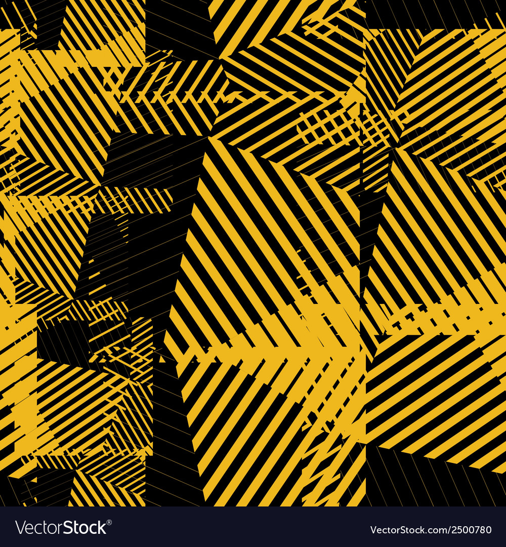 Contrast abstract striped textured geometric vector | Price: 1 Credit (USD $1)