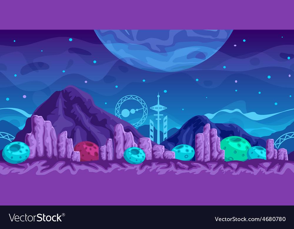 Futuristic game background vector | Price: 3 Credit (USD $3)