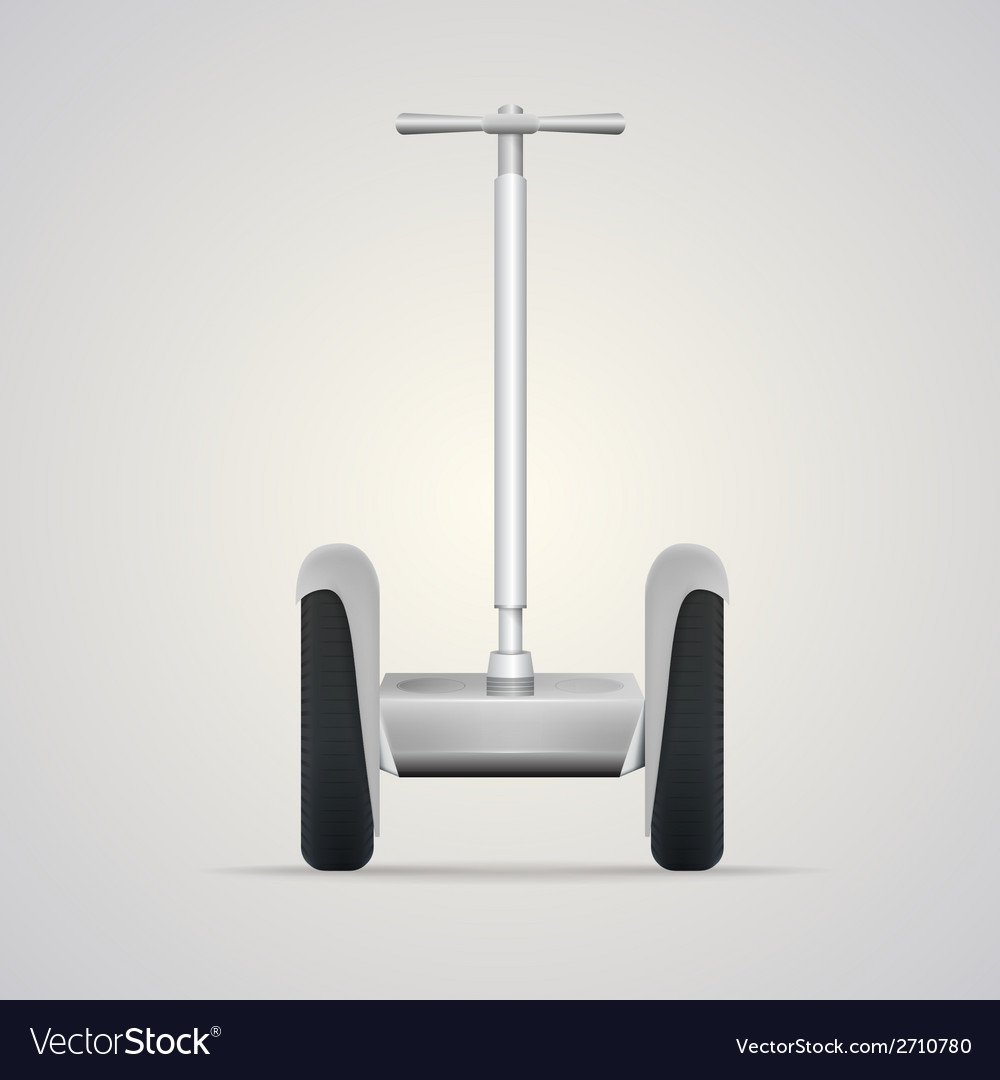 Segway a front view vector | Price: 1 Credit (USD $1)