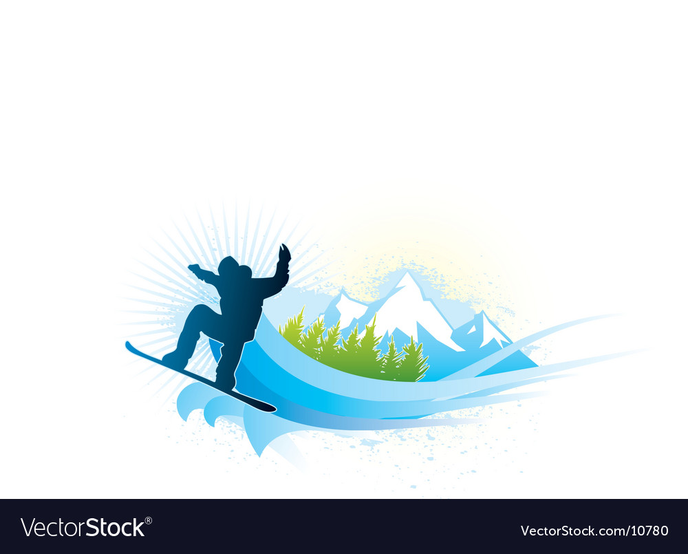 Snowboard vector | Price: 3 Credit (USD $3)
