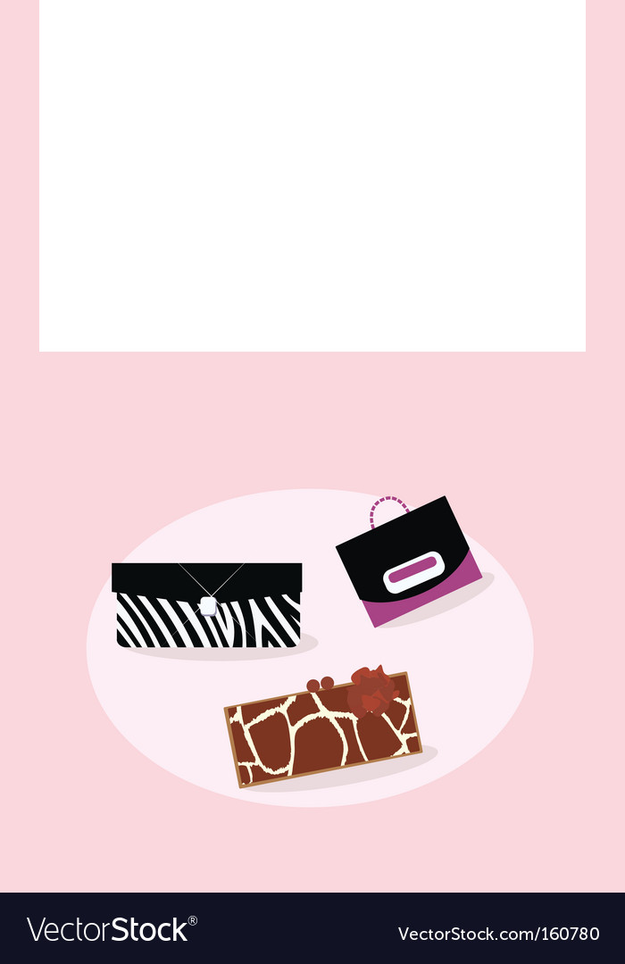Women fashion hand bags vector | Price: 1 Credit (USD $1)