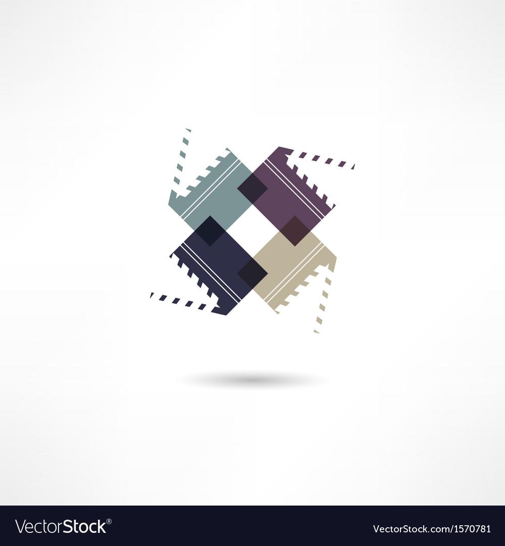 Clapper board vector | Price: 1 Credit (USD $1)