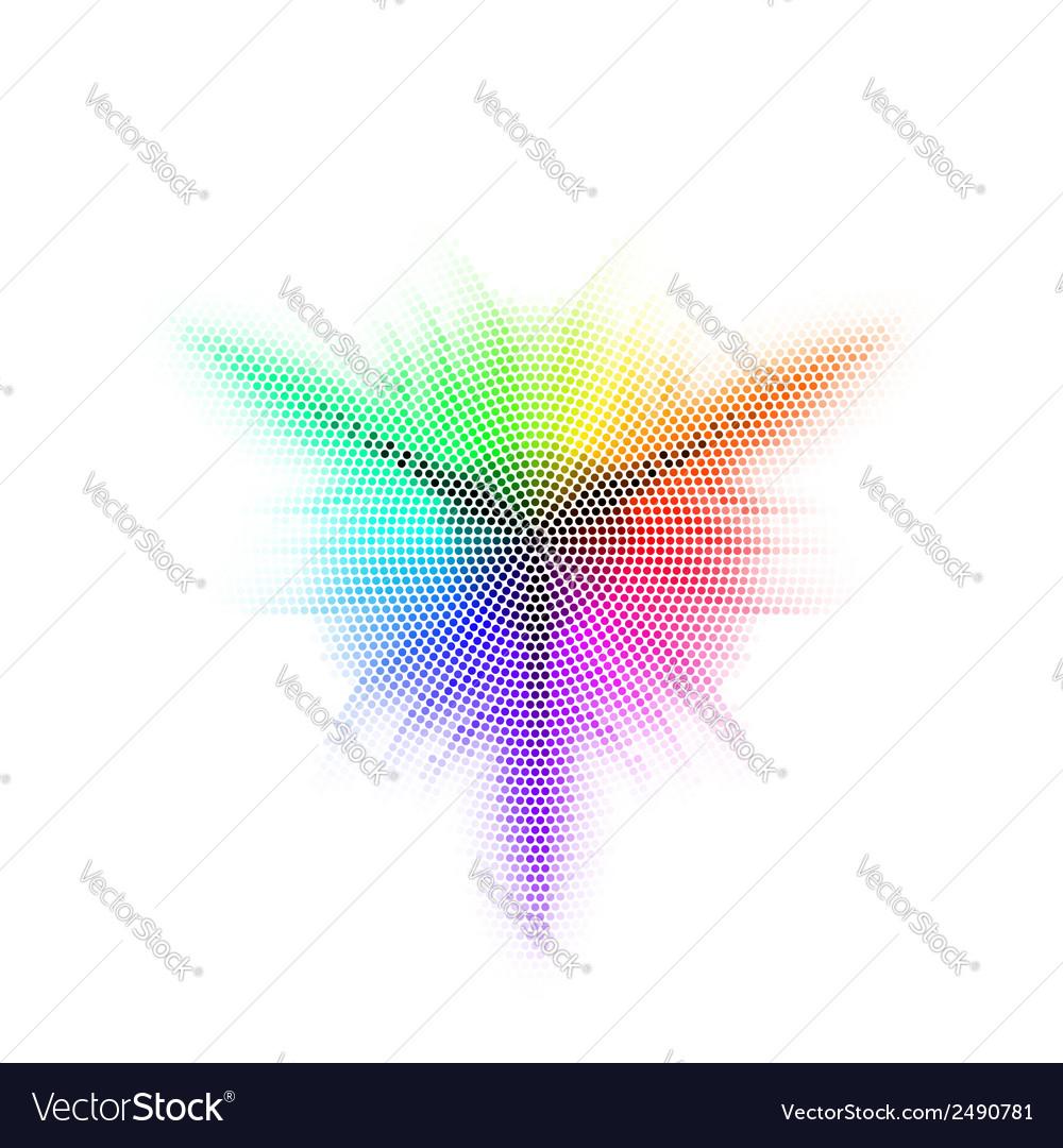 Different colored mosaic vector | Price: 1 Credit (USD $1)