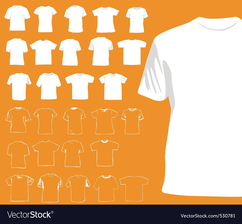 Tshirts vector   Price: 1 Credit (USD $1)
