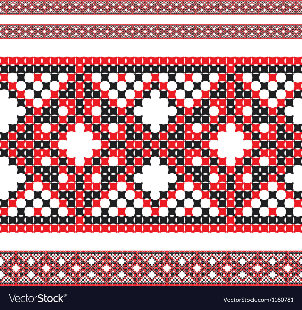 Ukrainian pattern 02 vector | Price: 1 Credit (USD $1)