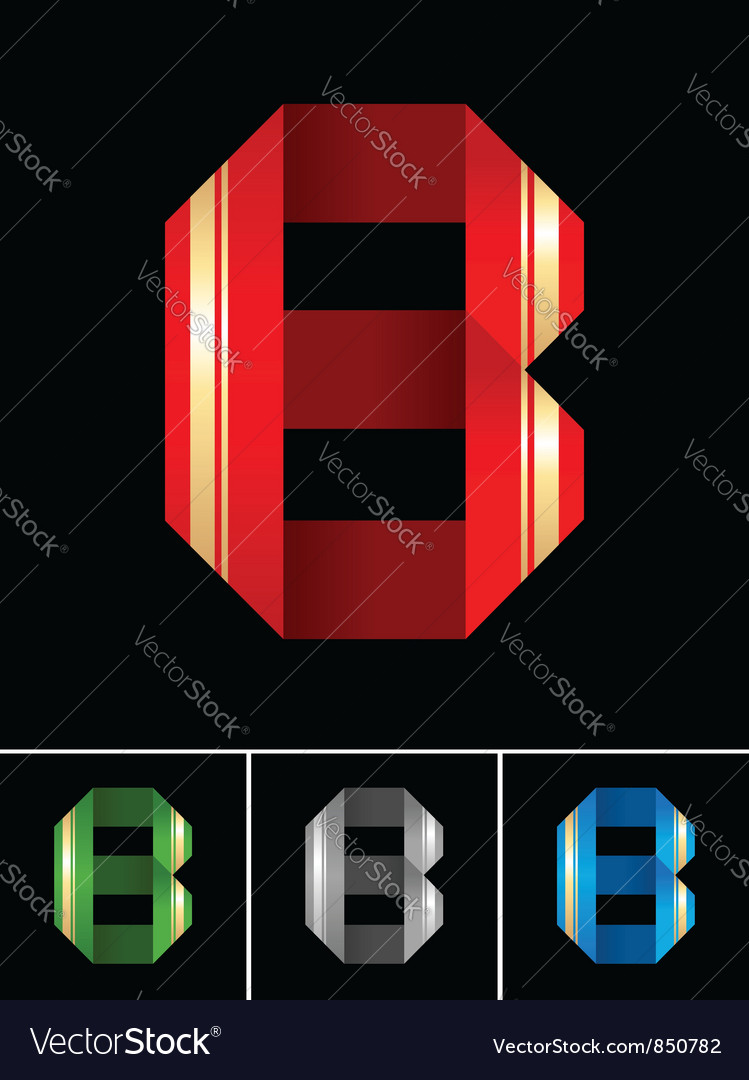Abc font from coloured set paper ribbon-latin vector   Price: 1 Credit (USD $1)