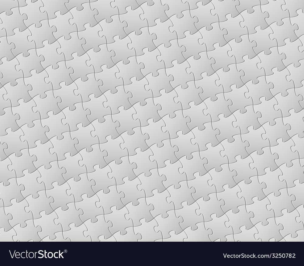 Background made from white puzzle pieces vector   Price: 1 Credit (USD $1)