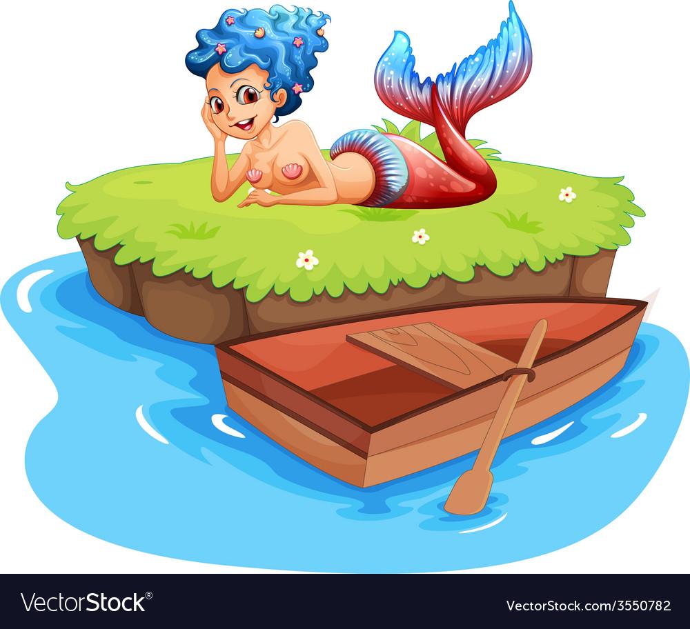 Mermaid vector | Price: 3 Credit (USD $3)