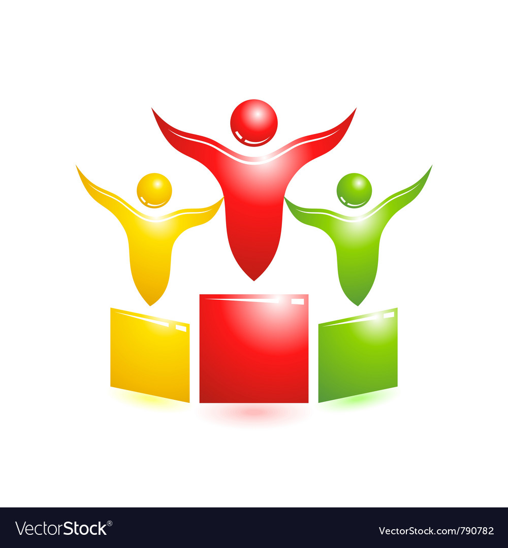 Pedestal icon vector | Price: 1 Credit (USD $1)