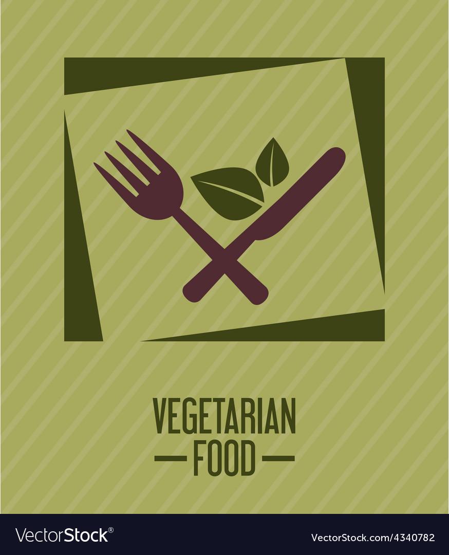 Vegetarian food vector | Price: 1 Credit (USD $1)