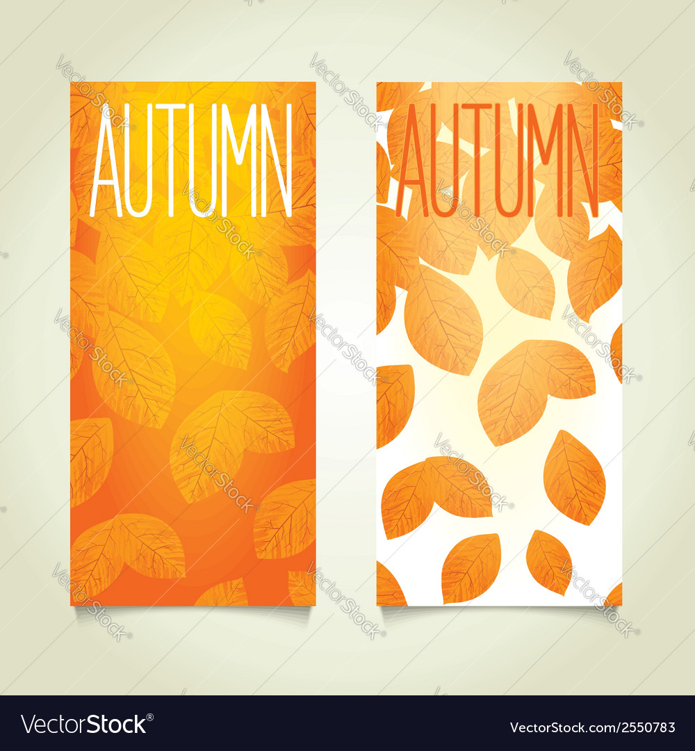 Autumn background design vector | Price: 1 Credit (USD $1)