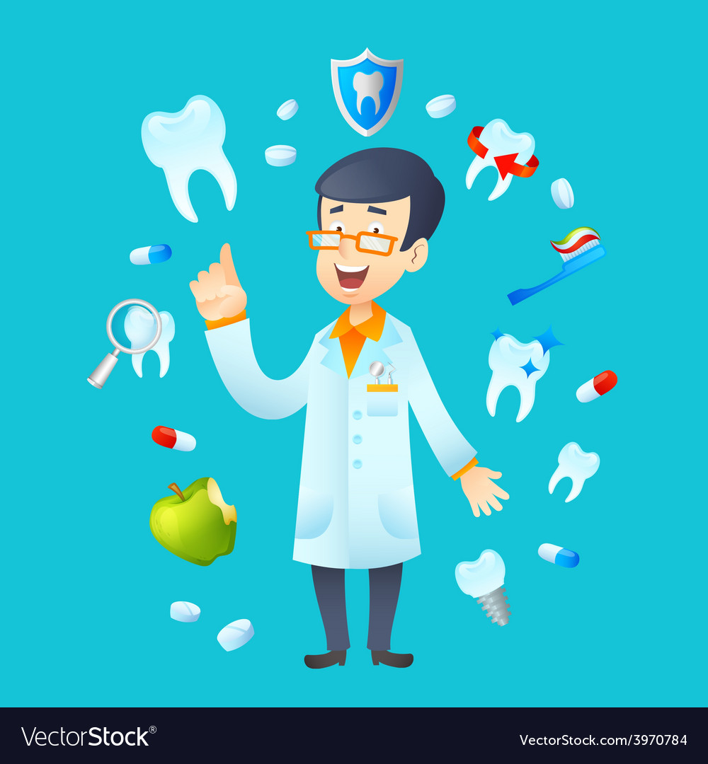Dentistry concept vector | Price: 1 Credit (USD $1)