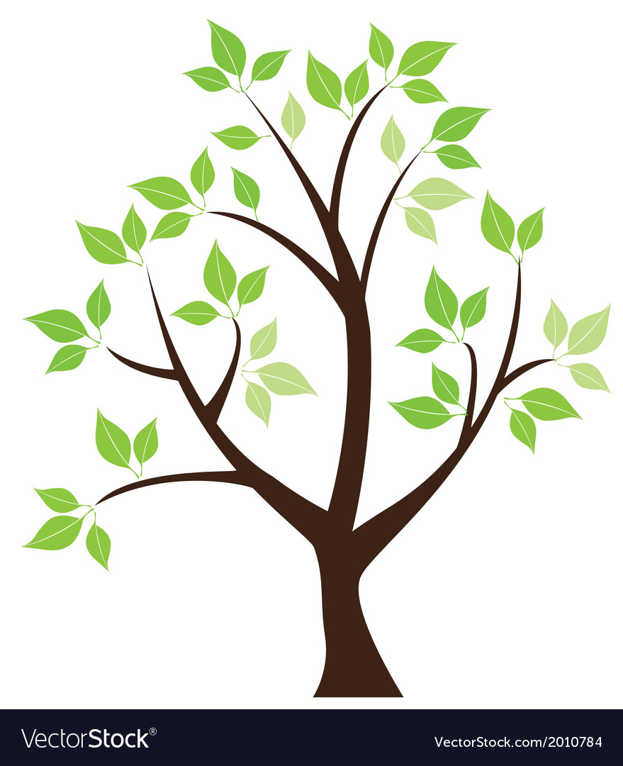 Leaf tree vector | Price: 1 Credit (USD $1)