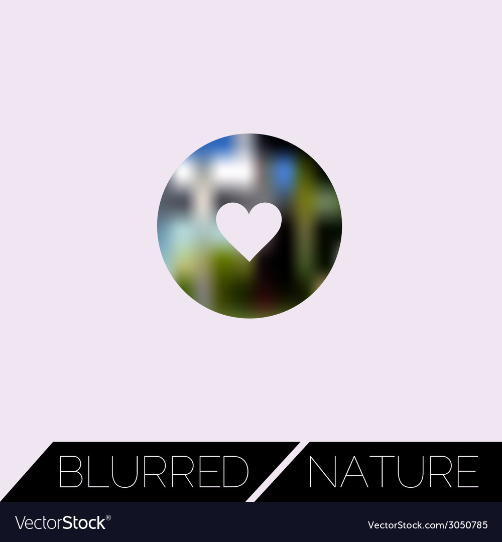 Abstract blurred ui concept with entertainment vector | Price: 1 Credit (USD $1)