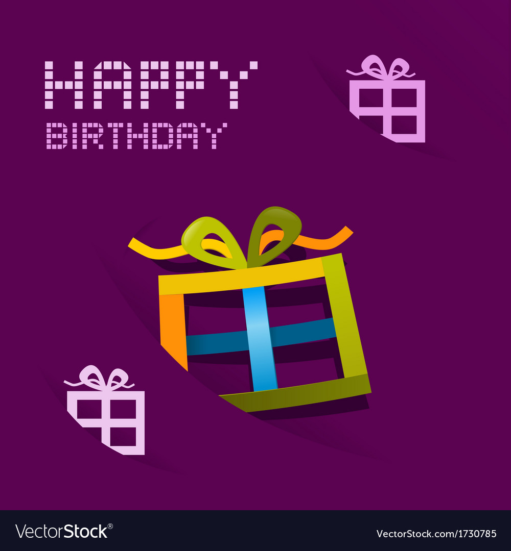 Birthday vector | Price: 1 Credit (USD $1)