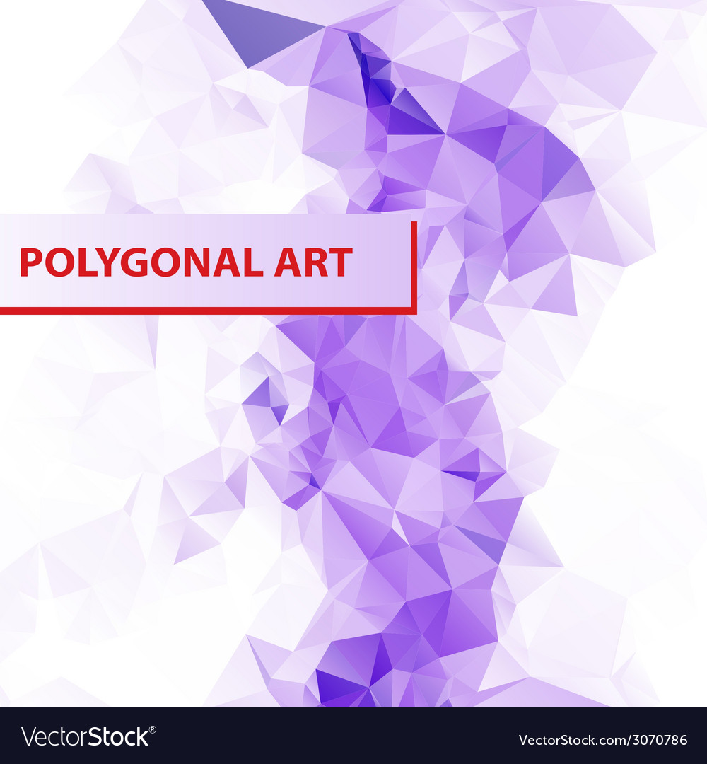 Abstract triangle shape background layout for web vector | Price: 1 Credit (USD $1)