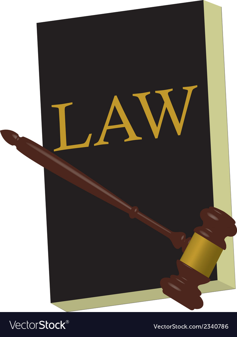 Book of law v vector | Price: 1 Credit (USD $1)