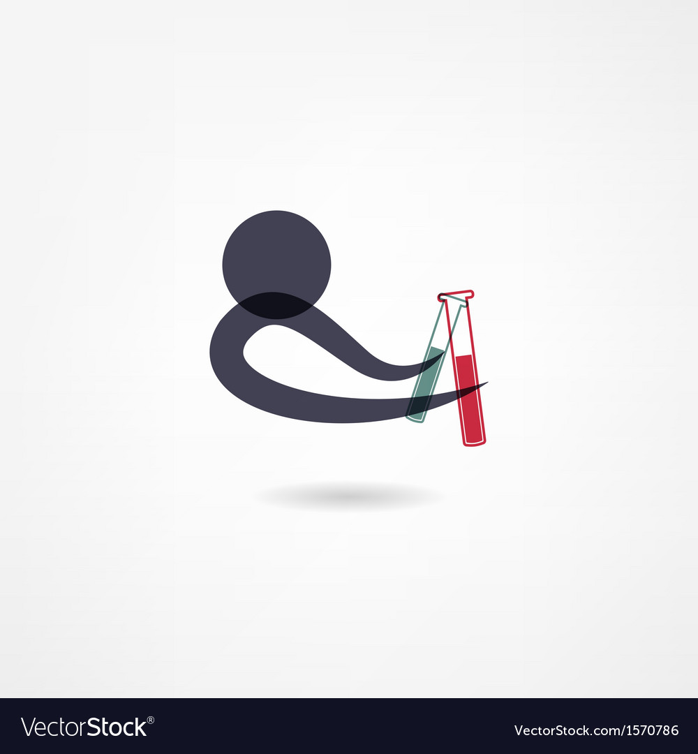 Chemistry icon vector | Price: 1 Credit (USD $1)