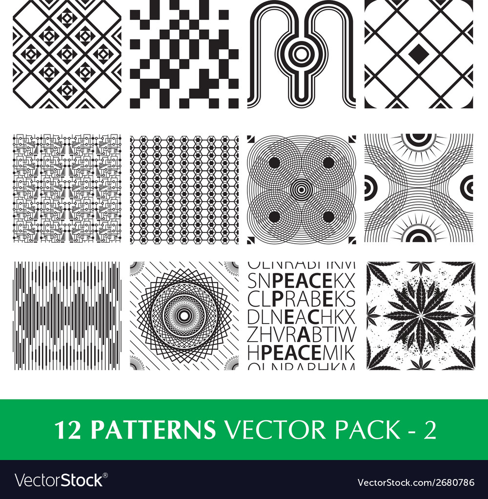 Pattern pack 2 vector | Price: 1 Credit (USD $1)
