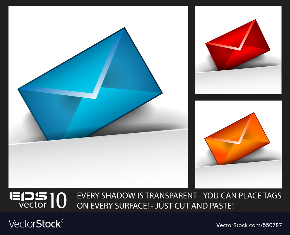 Email tags vector | Price: 1 Credit (USD $1)