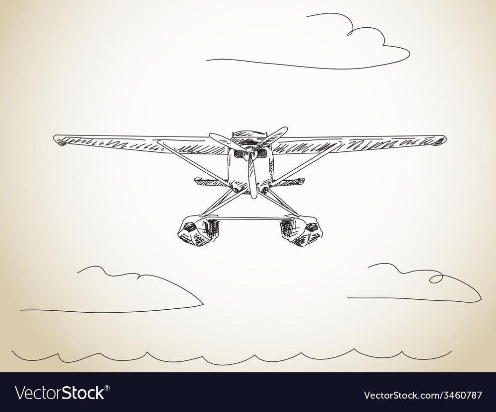 Water plane vector   Price: 1 Credit (USD $1)