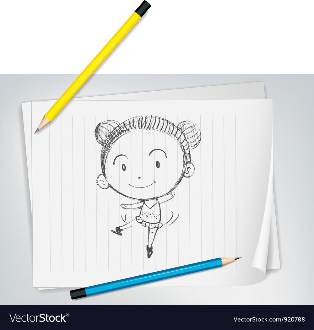 Dancing girl vector   Price: 3 Credit (USD $3)