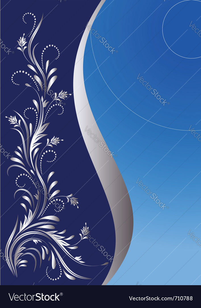 Floral poster vector | Price: 1 Credit (USD $1)