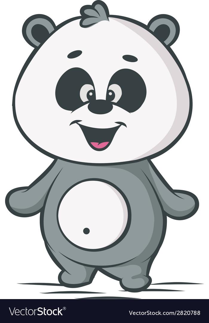 Little panda vector | Price: 1 Credit (USD $1)