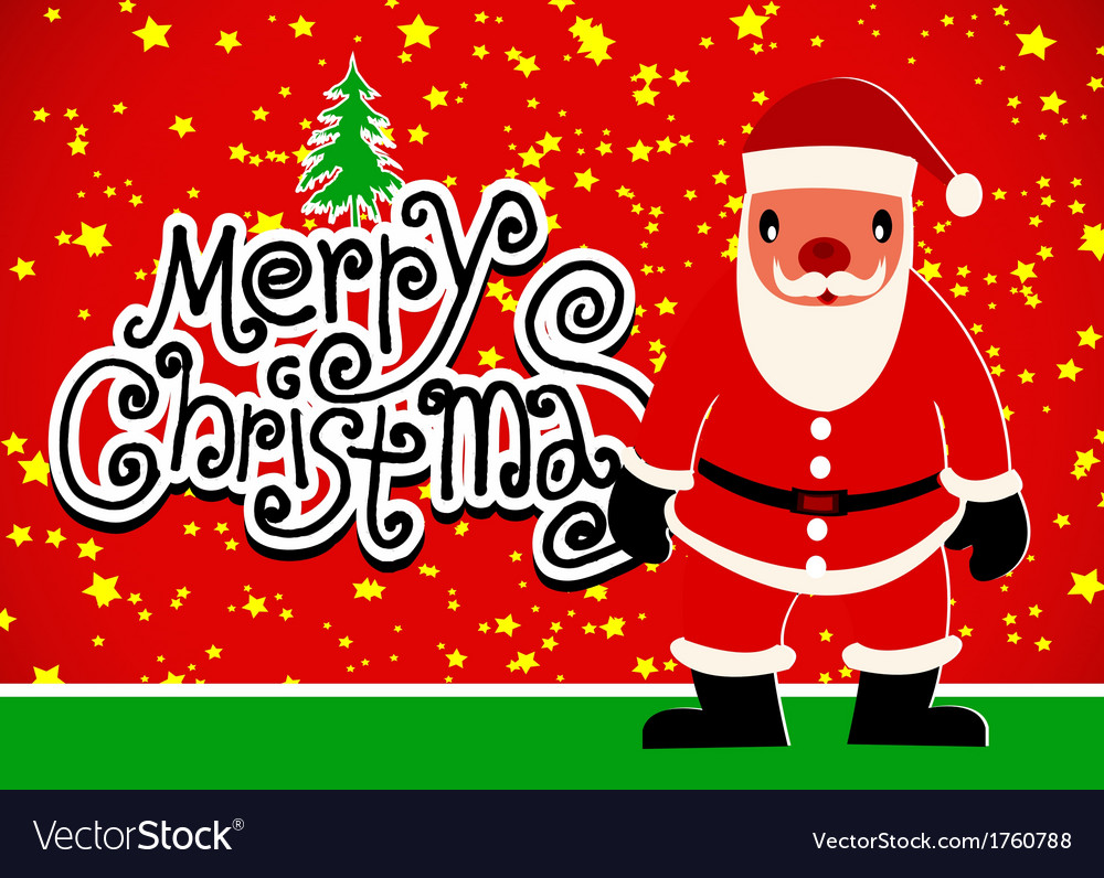Merry christmas and happy new year background vect vector | Price: 1 Credit (USD $1)