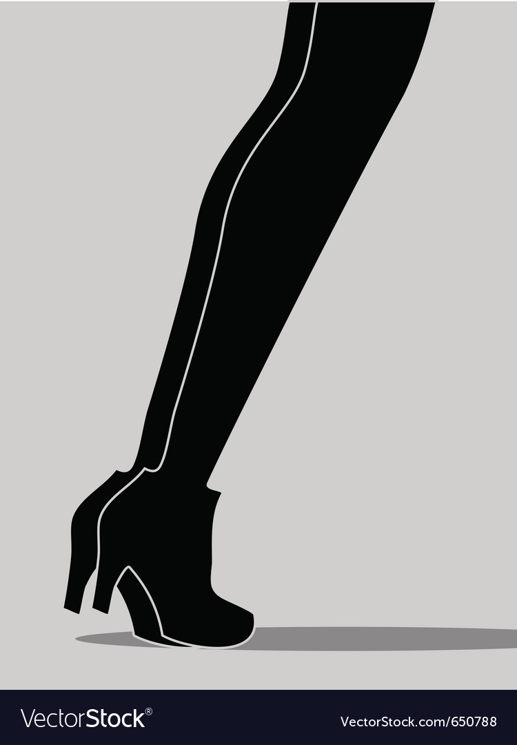 Womens legs vector | Price: 1 Credit (USD $1)