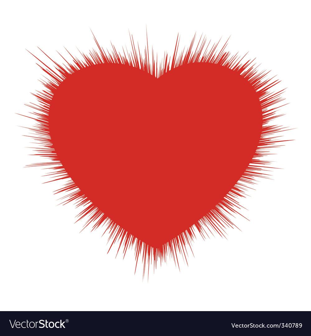 Heart burst vector | Price: 1 Credit (USD $1)