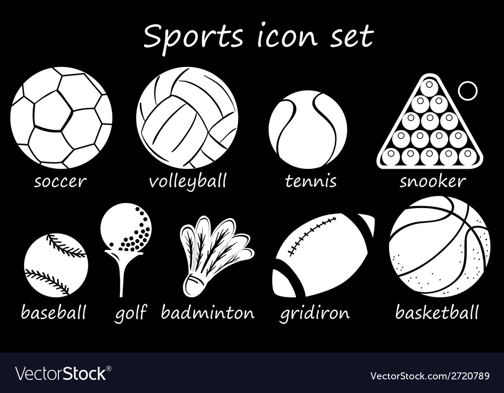 Sports icon vector | Price: 1 Credit (USD $1)