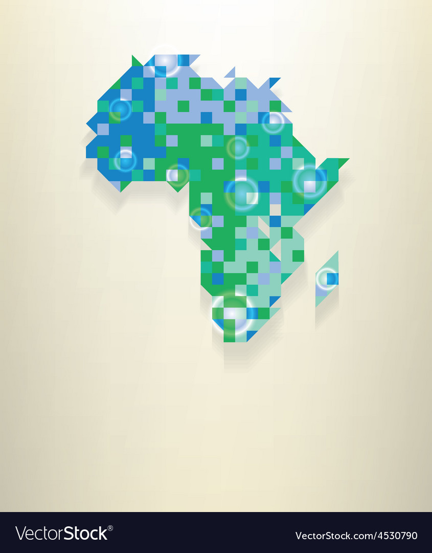 Africa vector | Price: 1 Credit (USD $1)