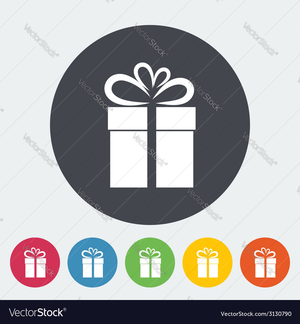 Christmas with gift box vector | Price: 1 Credit (USD $1)
