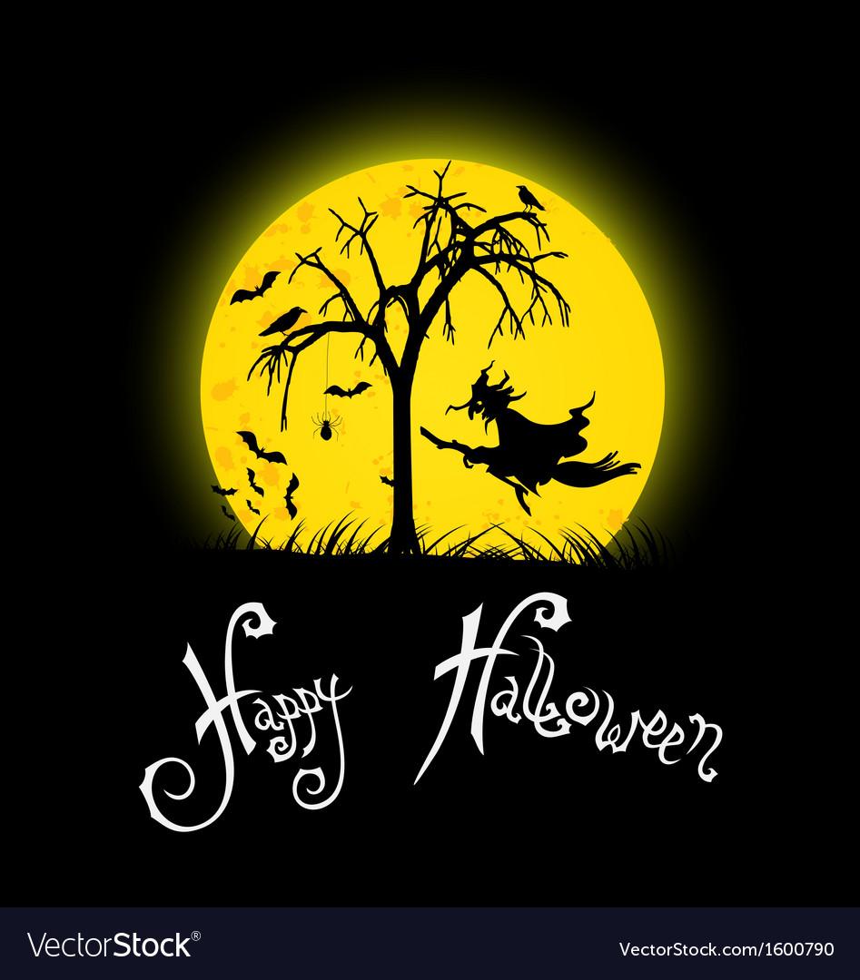 Happy halloween background vector   Price: 1 Credit (USD $1)